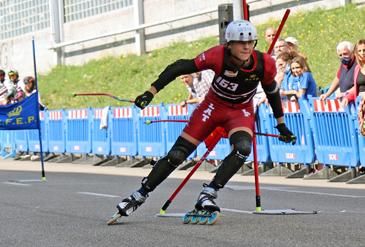 Latvijas sportistu sasniegumi 2021. gada Eiropas čempionātā skrituļslalomā