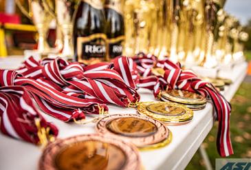 Izcīnītas medaļas Latvijas čempionātā skrituļslidošanā 10km distancē